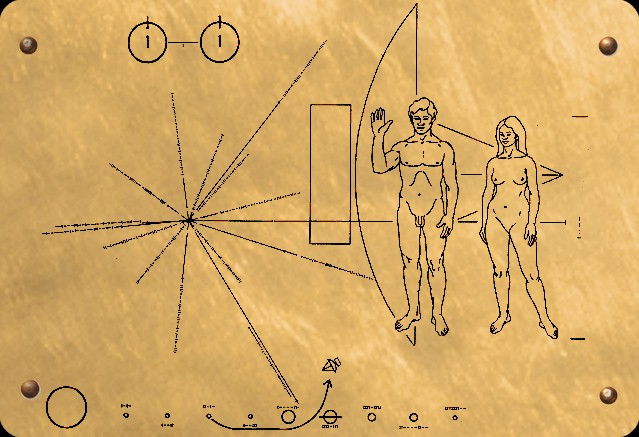 space probe pioneer 10 plaque - photo #8